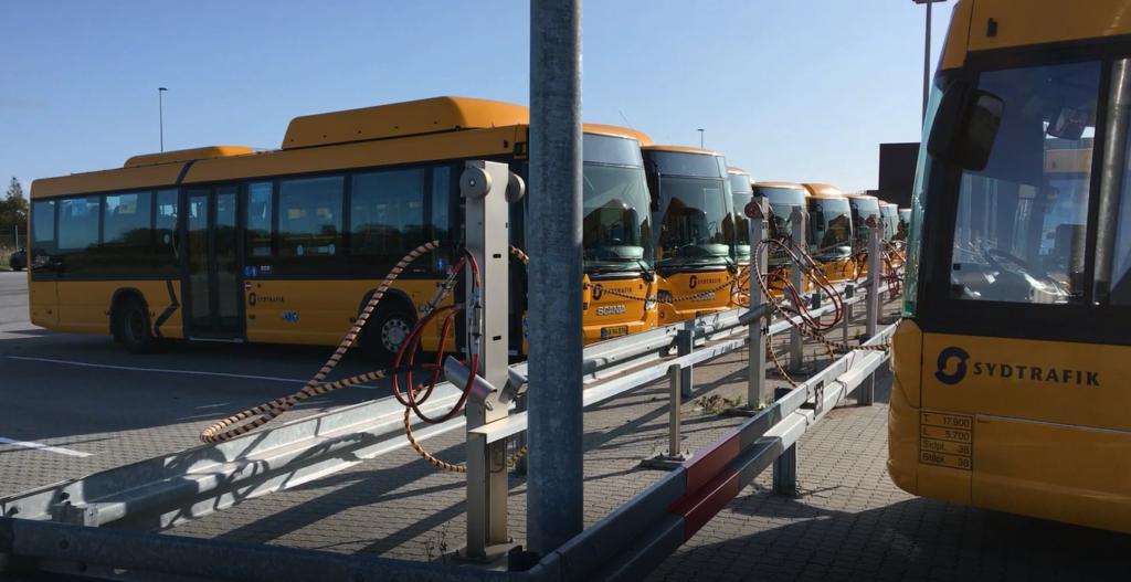 Busser tanker biogas