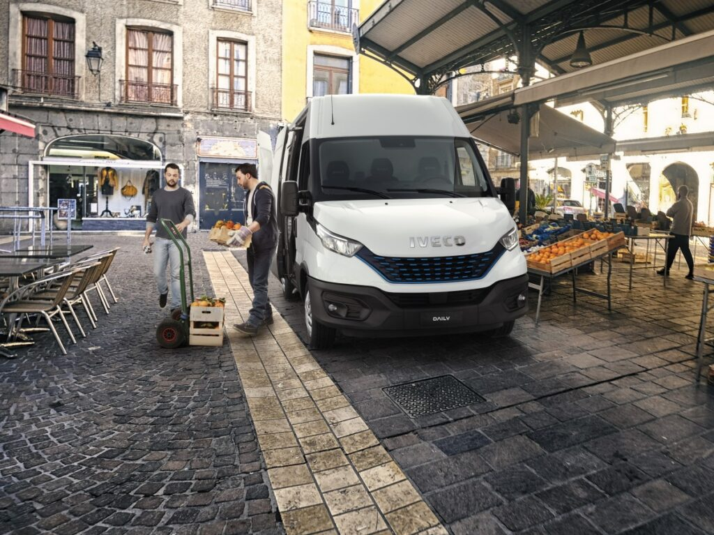 Iveco Daily på marked